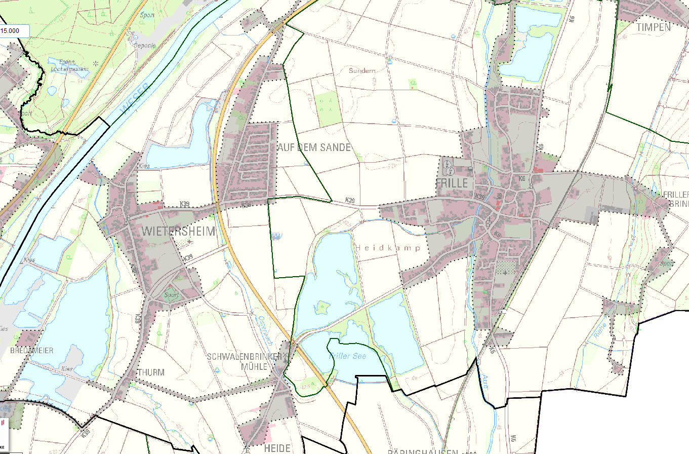 Schnelles Internet in Wietersheim